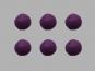 Jim Knopf Filzkugel Nr. 11811-14, Farbe 14 violett