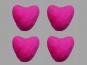 Jim Knopf Filzherz Nr. 11845-07, Farbe 07 pink
