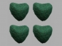 Jim Knopf Filzherz Nr. 11845-13, Farbe 13 dunkelgrün
