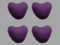 Jim Knopf Filzherz Nr. 11845-14, Farbe 14 violett