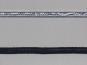 Paillettenband matt mit Gimpe Nr. 25888-01, Farbe silber matt