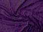 Pannesamt uni L724-08, Farbe 08 dunkellila