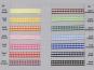 Satinband kariert - Vichyband 1099-1, Breite ca. 5 mm