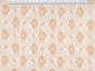 Spitzenstoff L727-10 mit Blumenmuster, Farbe 10 apricot