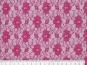 Spitzenstoff L727-40 mit Blumenmuster, Farbe 40 violett