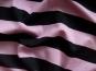 Baumwoll-Jersey 06-164-09 quergestreift in schwarz/pastell-lila - 2