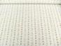 Baumwollstoff 8010204 natur hell mit Rosendruck, Farbe gelb - 2