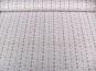 Baumwollstoff 8010205 natur hell mit Rosendruck, Farbe rosa - 2