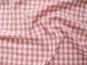 Baumwollstoff Vichykaro RS0138-112 - 1 cm - Farbe rosa - 2