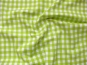 Baumwollstoff Vichykaro RS0138-123 - 1 cm - Farbe lime - 2