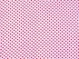 Chiffon 80204 in weiß mit kleinen roten Punkten - 2
