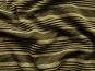 Feinstrick G68254 mit Quersteifen in schwarz und Lurex gold - 2