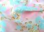 Georgette 801101 in pastellrosa mit Blumendruck - 2