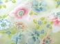 Georgette 801102 in pastellgrün mit Blumendruck - 2