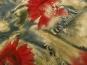 Georgette 806Z999 in beige mit Blumendruck rot - 2