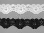 Elastische Spitze Nr. 70638-9000, Farbe 9000 schwarz - 2