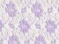 Spitzenstoff L727-31 mit Blumenmuster, Farbe 31 lila - 2