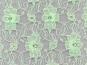 Spitzenstoff L727-32 mit Blumenmuster, Farbe 32 mint - 2