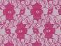 Spitzenstoff L727-40 mit Blumenmuster, Farbe 40 violett - 2