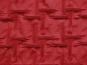 Couture-Stoff mit elastischer Raffung Nr. 99-025-A in dunkelrot - 2