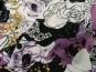 Viskose Jersey 42-016-AL-47 mit Blumendruck lila/schwarz - 2