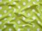Viskose-Jersey HS7083_4401-12 in limette mit großen weißen Punkten - 2