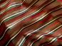 Weihnachtsorganza L8113-209 dunkelrot mit Glitterstreifen diagonal - 2