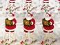 Weihnachtsdekostoff L8113-120 mit Weihnachtsmännern - 2