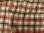 Woll-Karostoff V6871-004 in braun mit roten und schwarzen Überkaros - 2
