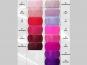 Organzastoff - Organza uni L720a-14, Farbe 14 weinrot - 3