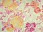 Spitzenstoff L8111-002 in pastellgelb mit Blumenmuster apricot - 3