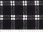 Woll-Karostoff V6869-002 in schwarz mit roten Überkaros - 3