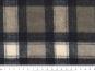 Woll-Karostoff V6872-002 in schwarz-graubeige - 3
