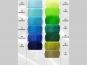 Organzastoff - Organza uni L720a-26, Farbe 26 türkisblau - 4
